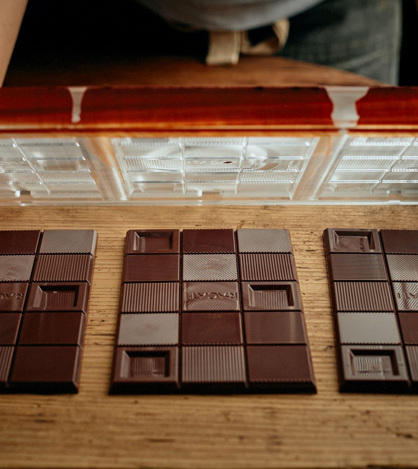 RACATIのチョコレート梱包